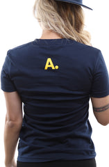 Home Team (Women's Navy/Gold Tee)
