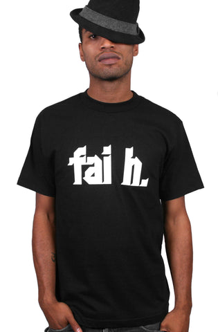 Faith (Men's Black Tee)