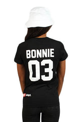 Breezy Excursion X Adapt :: Down To Ride (Bonnie) (Women's Black Tee)