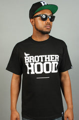 Breezy Excursion X Adapt :: Brotherhood (Men's Black Tee)