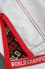 KNOXX X Adapt :: Gold Blooded (White Jiu Jitsu Gi)