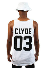 Breezy Excursion x Adapt :: All I Need (Clyde) (Men's White Tank)