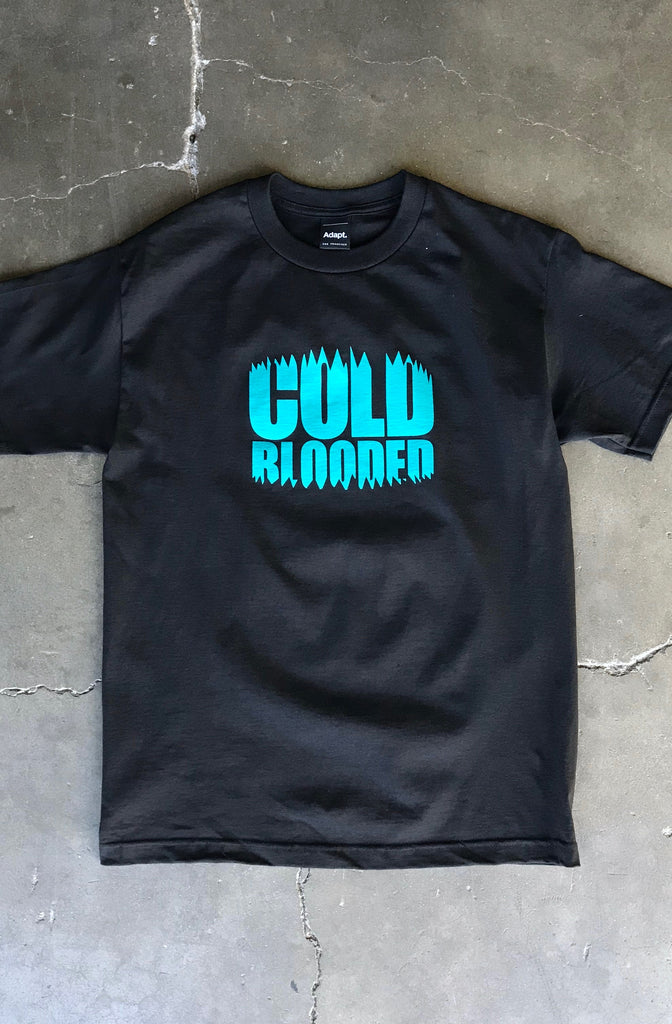 Cold Blooded Chomp (Men's Black Tee)