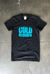 Cold Blooded Chomp (Women's Black Tee)