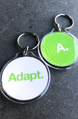 Common Sense (Lime/White Keychain)