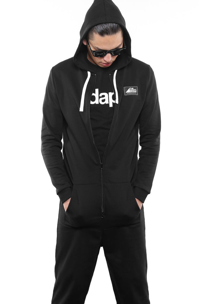 Deca (Men's Black Onesie)