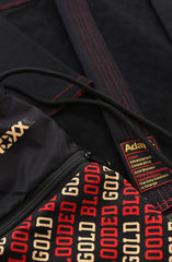 KNOXX X Adapt :: Gold Blooded (Black Drawstring Bag)