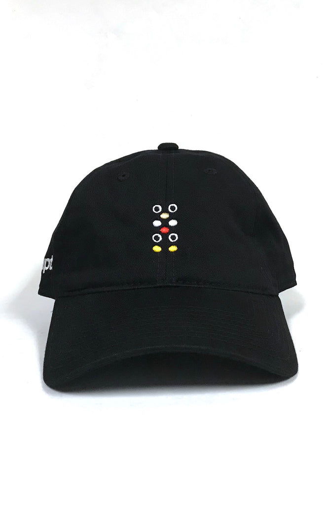 Dot Matrix (Black Low Crown Cap)