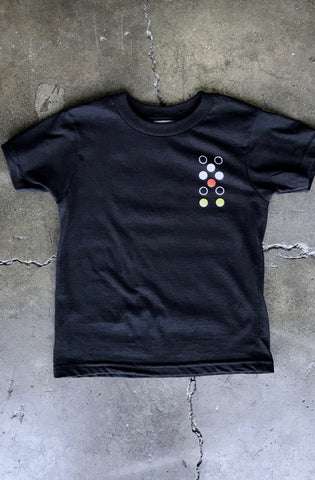 Dot Matrix LP (Tykes Unisex Black Tee)