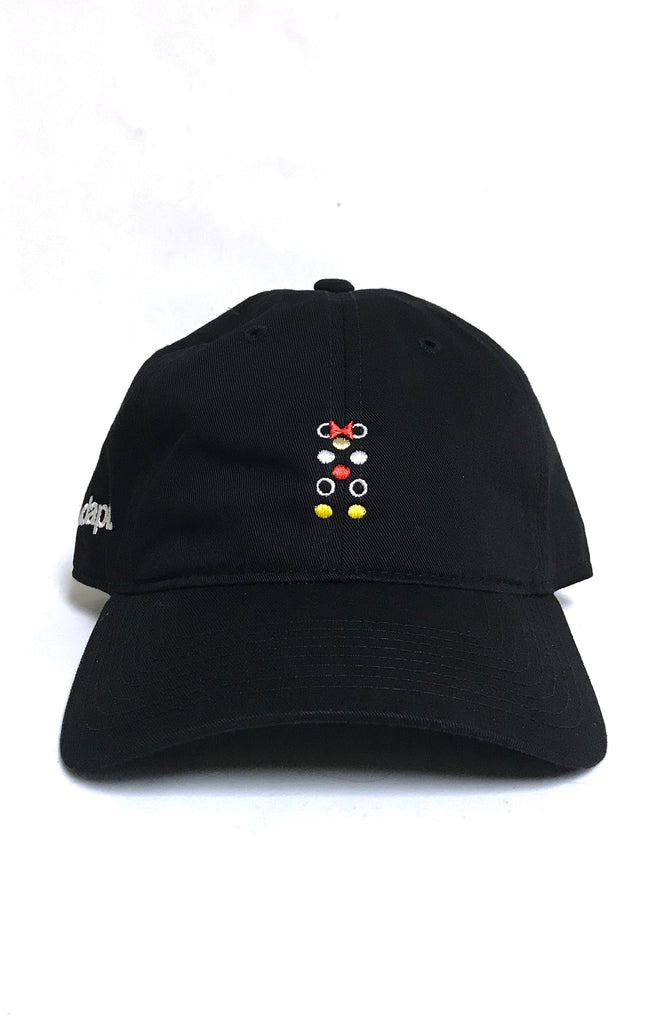 Dottie Matrix (Black Low Crown Cap)
