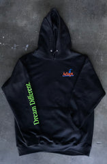 Dream Different (Men's Black Hoody)