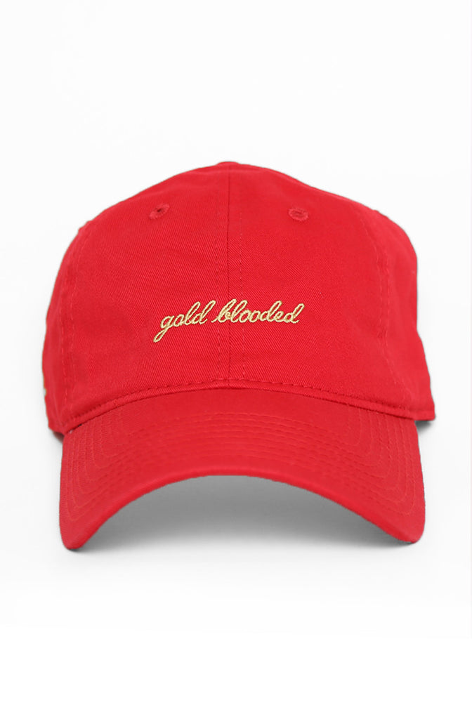 Gold Blooded (Red Low Crown Cap)