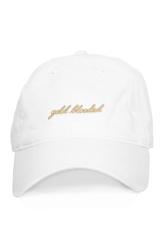 Gold Blooded (White Low Crown Cap)