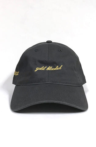 Gold Blooded (Charcoal Low Crown Cap)