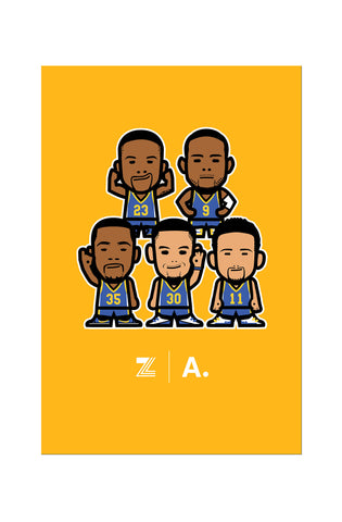 Zeeb Labs x Adapt :: Wemoji Team (Gold Poster)