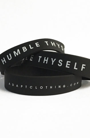 Humble Thyself (Black Stretch Band 3-Pack)