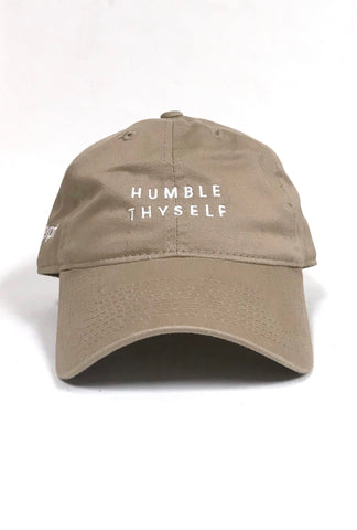 Humble Thyself (Khaki Low Crown Cap)