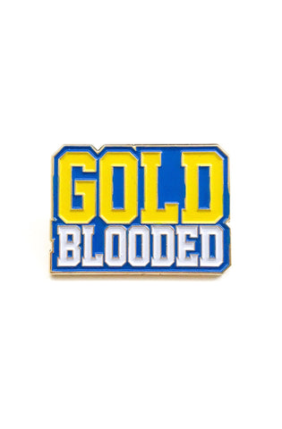 Gold Blooded (Royal Enamel Pin)