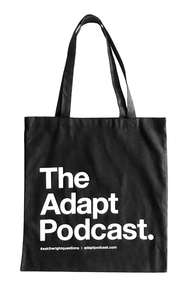 The Adapt Podcast. (Black Tote)