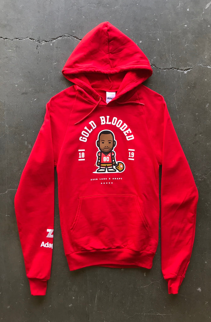 Zeeb Labs x Adapt :: Nemoji 80 (Women's Red Hoody)
