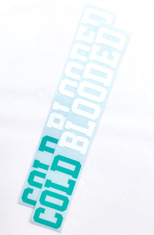 "Cold Blooded II (Teal/White 12"" Vinyl 2-Pack)"