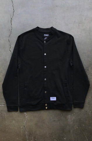 Icarus (Men's Black Snap Bomber)