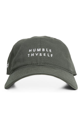 Humble Thyself (Olive Low Crown Cap)