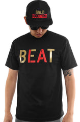 Beat LA (Men's Black/Red Tee)