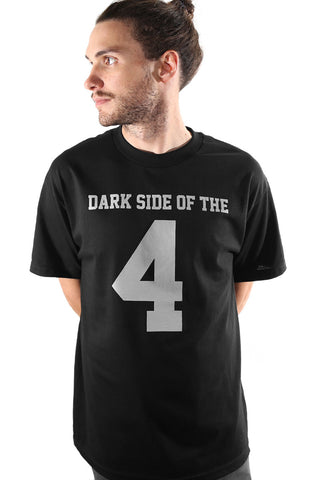 Dark Side of the 4 (Men's Black Tee)