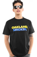 Oakland Smokin (Men's Black/Royal Tee)