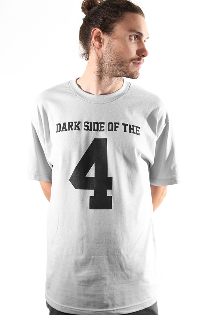 Dark Side of the 4 (Men's Silver Tee)