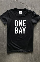 #LOVEGANG x Adapt :: One Bay (Women's Black Tee)