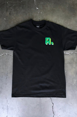 Kuya George X Adapt :: Only the Strong (Men's Black Tee)