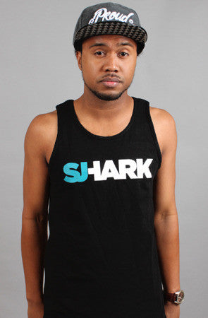 Breezy Excursion x Adapt :: Shark (Men's Black Tank)