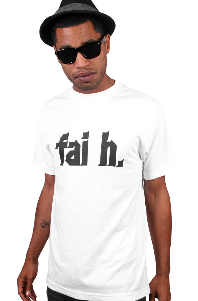 Faith (Men's White Tee)
