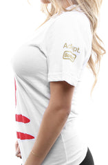 Booger Kids X Adapt :: Keep It 49 (Women's White V-Neck)