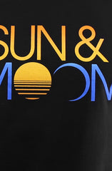 Sun & Moon (Men's Black Tee)