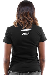 2ONDRE3000 x Adapt :: Been On (Women's Black Tee)