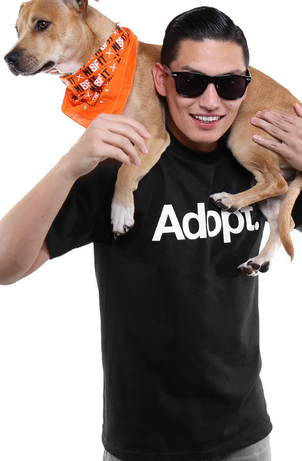 San Francisco SPCA x Adapt :: Adopt (Men's Black Tee)