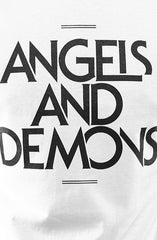 Angels and Demons (Men's White Tee)