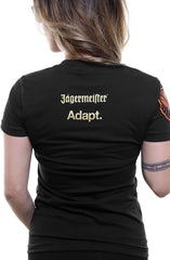 Jägermeister X Adapt :: Meister of Love (Women's Black Tee)