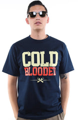 Frozen Kuhsterd x Adapt :: Cold Blooded (Men's Navy Tee)