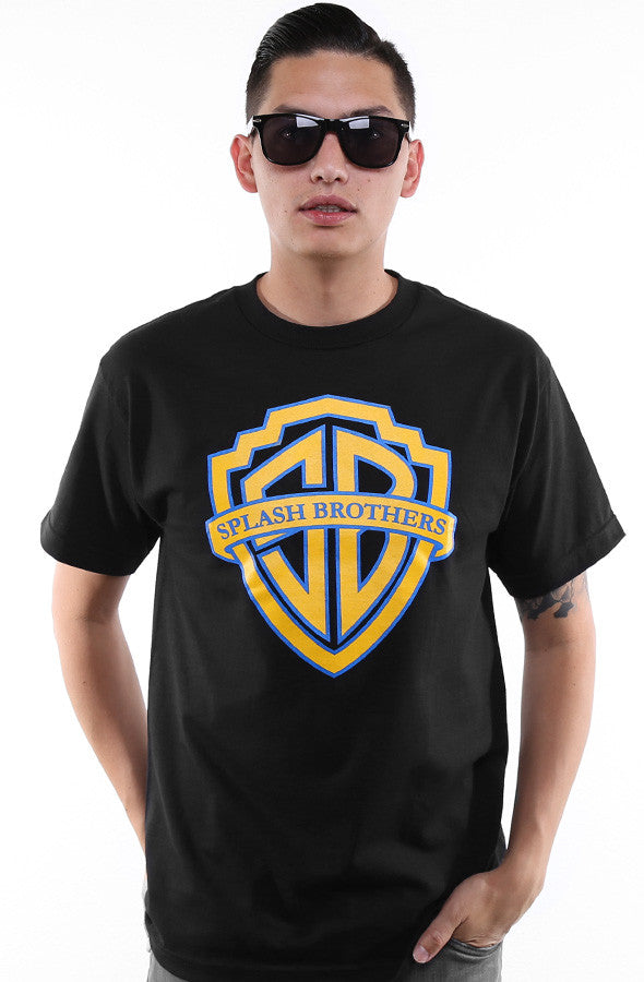 Booger Kids x Adapt :: Splash Brothers (Men's Black Tee)
