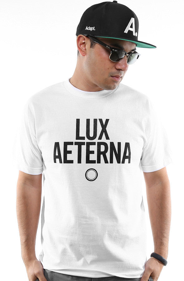 Lux Aeterna (Men's White Tee)