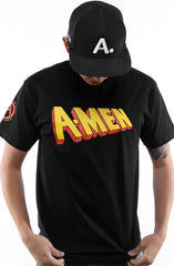 DJ Amen x Cole Marchetti x Young California x Adapt :: A-Men: First Class (Men's Black Tee)