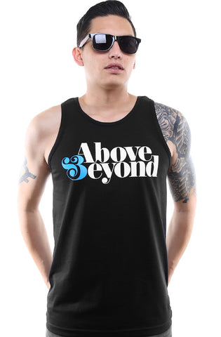 Above & Beyond (Men's Black Tank)