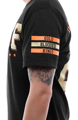 Gold Blooded Kings :: 28 (Men's Black Tee)