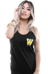 Gold Blooded Royalty :: 23 (Women's Black Tank Top)