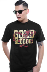 GOLD BLOODED :: CNY Edition (Men's Black/Gold Tee)