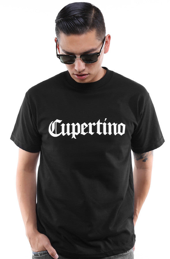 Cupertino (Men's Black Tee)